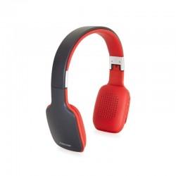 Auriculares inalámbricos fonestar slim-r/ con micrófono/ bluetooth/ grises y rojos