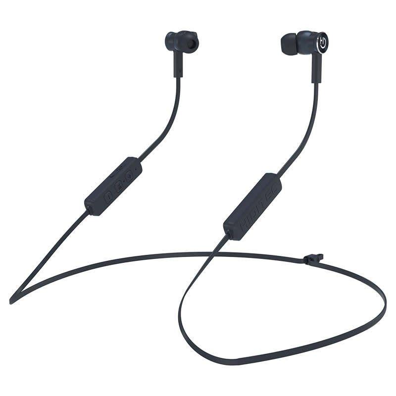 Auriculares inalámbricos intrauditivos hiditec aken int010001/ con micrófono/ bluetooth/ grises