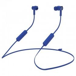 Auriculares inalámbricos intrauditivos hiditec aken int010002/ con micrófono/ bluetooth/ azules
