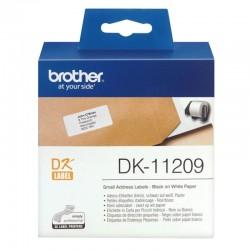 Rollo de etiquetas original brother dk-11209