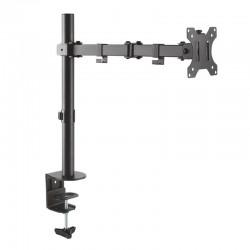 Soporte de mesa con brazo articulado aisens dt32tsr-039 para pantallas 13-32'/33-81cm - hasta 8kg -  giratorio/inclinable -