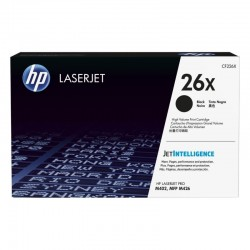 Toner negro hp cf226x jetintelligence - nº 26x - 9000 páginas - compatible con laserjet pro m402 / mfp m426