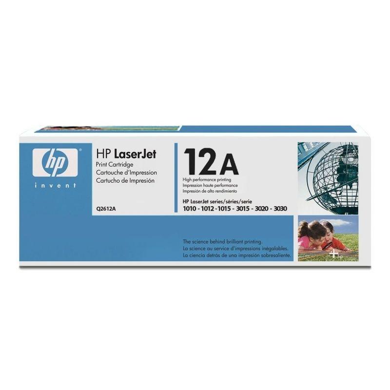 Toner hp estándar laserjet ultarprecise 2000pag. al 5% de cobertura 1012/1015/1020/1022/1018/m1005