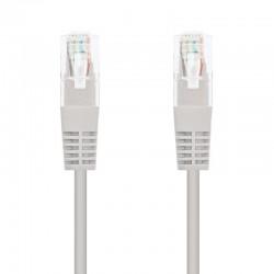 Cable de red rj45 utp nanocable 10.20.1305 cat.6/ 5m/ gris