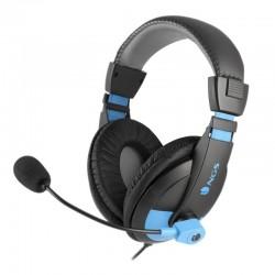 Auriculares ngs msx9 pro/ con micrófono/ jack 3.5/ azules