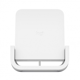 Base de carga inalámbrica logitech powered - optimizado para iphone - compatible con qi - modelos compatibles según