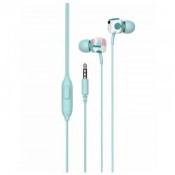 Auriculares intrauditivos spc hype verde - micrófono integrado - botón multifuncion - cable 1.2m - jack 3.5mm