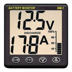 Panel de monitorización de baterias nasa bm-1 para baterias de 12v shunt 100
