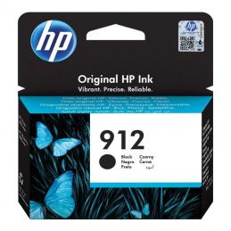 Cartucho de tinta negro hp nº912 - 300 páginas aprox - compatible según especificaciones