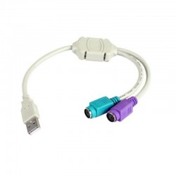 Cable usb-ps2 3go c101