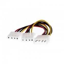 Cable duplicador molex 3go cmolexy/ molex macho - 2 x molex hembra