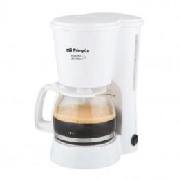 Cafetera de goteo orbegozo cg 4012/ 6 tazas/ blanca