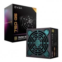 Fuente de alimentación evga 220-g5-0750-x2 750w - ventilador 14cm - eficiencia 80 plus gold - atx - modular