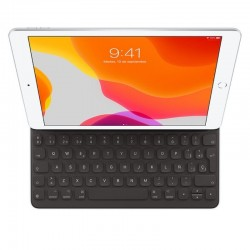 Teclado apple smart keyboard/ negro/ para ipad air 10.5' y ipad 10.2'