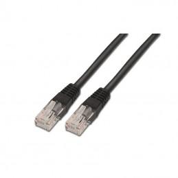 Cable de red rj45 utp aisens a135-0259 cat.6/ 2m/ negro