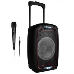 Altavoz portable con bluetooth ngs wild samba/ 30w