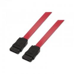 Cable sata aisens a130-0153 - velocidad hasta 3gbp/s - 0.5m - rojo