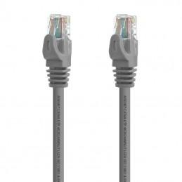 Cable de red rj45 utp aisens a145.0327 cat.6a/ 2m/ gris