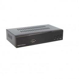 Receptor de sobremesa fonestar rdt-761hd - dvb-t2 hd - audio dolby d+ / dolby digital - usb - hdmi - euroconector - rca - mando