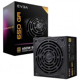 Fuente de alimentación gaming evga 650 ga supernova/ 650w/ ventilador 13.5cm/ 80 plus gold