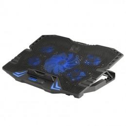 Soporte refrigerante ngs gaming cooler gcx-400 - adecuado 15.6'/39.6cm - 2xusb - 6 niveles velocidad - pantalla lcd - malla