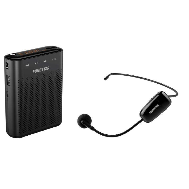 Altavoz amplificador fonestar alta-voz-w30 mic-uhf/ 30w/ 1.0
