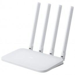 Router inalámbrico xiaomi mi router 4c white - 802.11 b/g/n - 300mbps - 1*wan - 2*lan 100mbps - 4*antenas 5db - modo repetidor