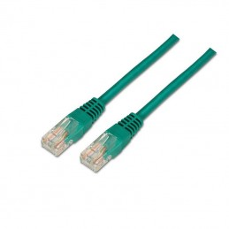 Cable de red rj45 utp aisens a135-0248 cat.6/ 3m/ verde