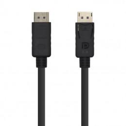 Cable displayport aisens a149-0391/ displayport macho - displayport macho/ 3m/ negro