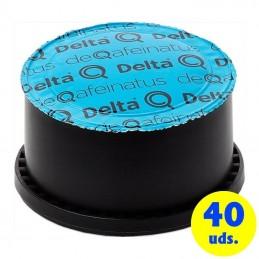 Cápsula delta deqafeinatus para cafeteras delta/ caja 40