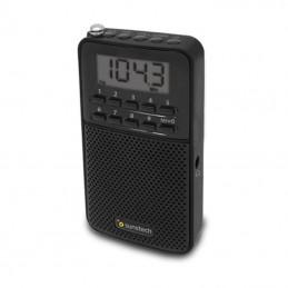 Radio portátil sunstech rpds81/ negra