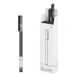 Bolígrafos de tinta de gel xiaomi mi high-capacity gel pen/ 10 unidades/ negros