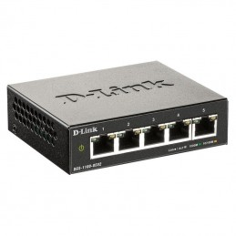 Switch d-link dgs-1100-05v2 5 puertos/ rj-45 10/100/1000