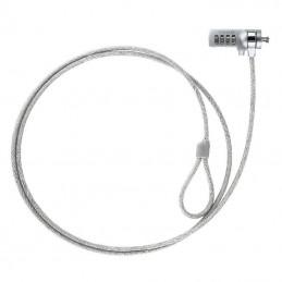 Cable de seguridad para portátiles tooq tqclkc0015