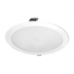 Downlight iglux 102320-fb/ circular/ ø235 x 35mm/ potencia 25w/ 2300 lúmenes/ 6000ºk/ blanco