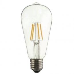 Bombilla led iglux fil-st64-6c v2/ casquillo e27/ 6w/ 600 lúmenes/ 2700k