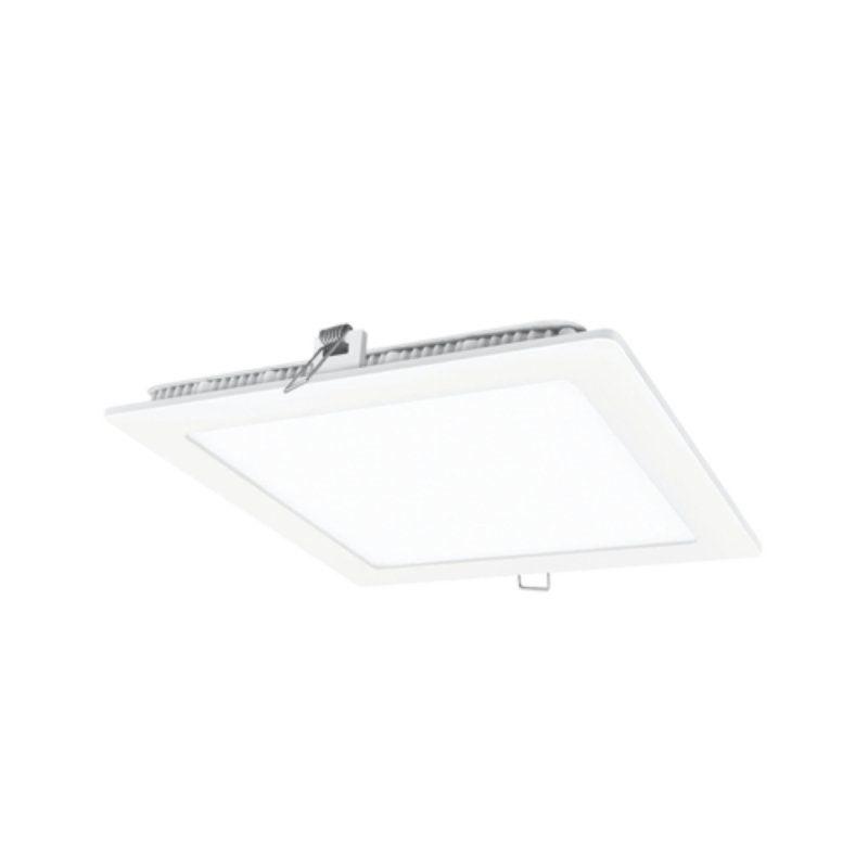 Downlight iglux ls-102218-fb v2/ cuadrado/ ø225 x 19mm/ potencia 18w/ 1700 lúmenes/ 6000ºk/ blanco