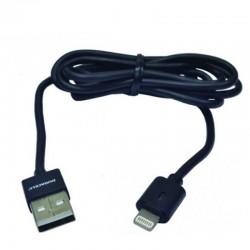 Cable usb lightning duracell usb5012a/ usb macho - lightning macho/ 1m/ negro