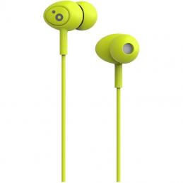 Auriculares intrauditivos sunstech pops/ con micrófono/ jack 3.5/ verdes