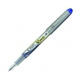 Caja de plumas desechables pilot v pen/ 12 unidades/ azules
