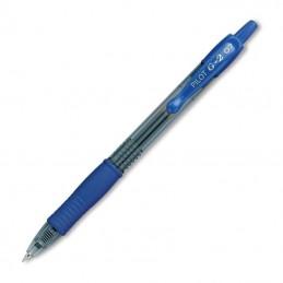 Caja de bolígrafos de tinta de gel retráctil pilot g-2/ 12 unidades/ azules