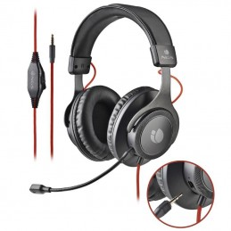 Auriculares ngs cross trail/ con micrófono/ jack 3.5/ negros