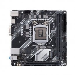 Placa base asus prime h410i-plus csm socket 1200/ mini itx