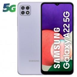 Smartphone samsung galaxy a22 4gb/ 64gb/ 6.6'/ 5g/ violeta