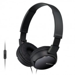 Auriculares sony mdr-zx110b/ jack 3.5/ negros