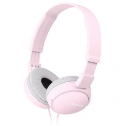 Auriculares sony mdr-zx110p/ jack 3.5/ rosas