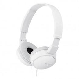 Auriculares sony mdr-zx110w/ jack 3.5/ blancos