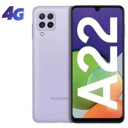 Smartphone samsung galaxy a22 4gb/ 64gb/ 6.4'/ violeta