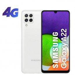 Smartphone samsung galaxy a22 4gb/ 64gb/ 6.4'/ blanco