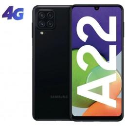 Smartphone samsung galaxy a22 4gb/ 128gb/ 6.4'/ negro